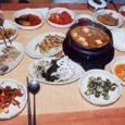 海産物豊かな食卓1
